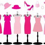 ピンクのドレスに合う靴・ボレロ・メイク
