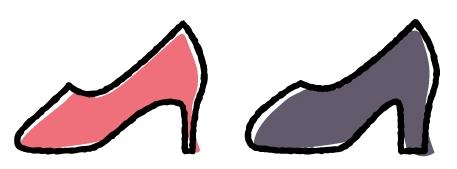 結婚式やパーティーの靴